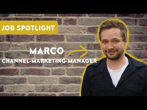 Channel-Marketing-Manager - Marco Giesel im Job-Spotlight