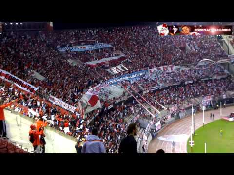 Video - RECIBIMIENTO + PARA SER CAMPEON - River Plate vs San Jose - Copa Libertadores 2015 - Los Borrachos del Tablón - River Plate - Argentina