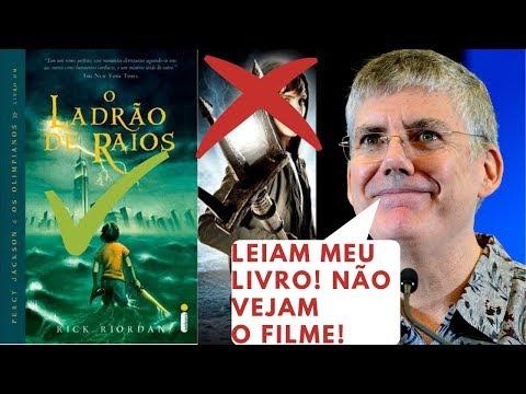 PERCY JACKSON E OS OLIMPIANOS - O LADRÃO DE RAIOS ? RICK RIORDAN ? RESENHA ANIMADA