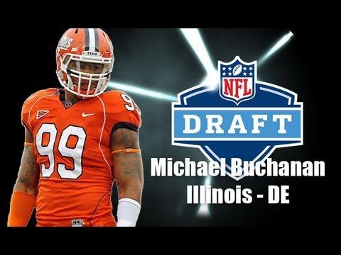 Michael Buchanan - 2013 NFL Draft Profile video.