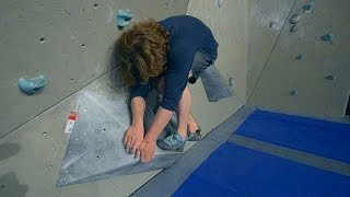 Nikken Is Crashing In to Walls On A 6C by Eric Karlsson Bouldering