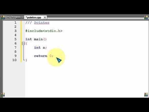 Bangla C programming tutorial  69   Pointer Starting