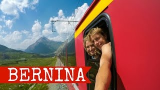 Chur Switzerland  city photos gallery : Lugano to Chur with the Bernina Express, featuring Bergun, Switzerland | 2015 FULL HD