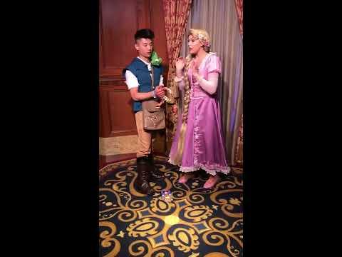 """""""Flynn"""" Meets Rapunzel"""