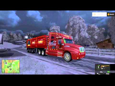 Coca Cola Christmas Truck v1.1