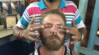 Pushkar India  city photos gallery : London Guy Getting Powerful Upper Body Massage In Pushkar India Part-1| 4K