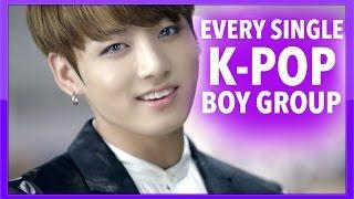 K-POP BOY GROUPS GUIDE (EVERY ACTIVE K-POP BOY GROUP)