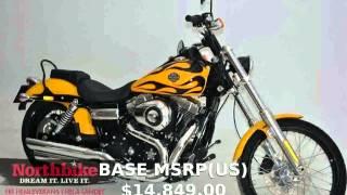 6. 2012 Harley-Davidson Dyna Glide Wide Glide - Details