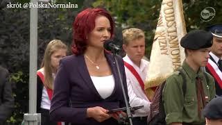 Posłanka i ponowna kandydatka Berni Krynicka. To wzór dobroci, elokwencji i inteligencji.