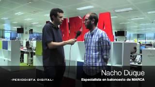 """Nacho Duque: """"Pablo Laso ha demostrado que se puede ganar jugando al ataque"""""""