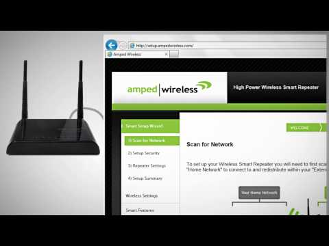 Amped Wireless High Power Wi-Fi Smart Repeaters SR150/SR300