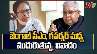 Bengal CM Mamata Banerjee Sensational Comments On Governor Dhankhar