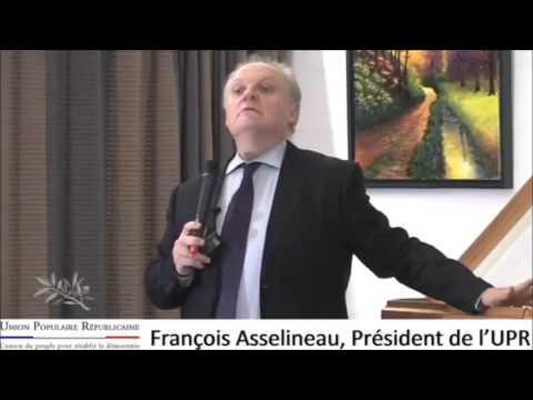 ASSELINEAU LORS D'UNE DE SES CONFÉRENCES EDIFIANT (видео)