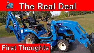 5. LS MT125 Tractor vs John Deere 1025R vs Massey Ferguson GC1705