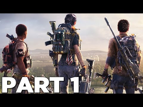THE DIVISION 2 Walkthrough Gameplay Part 1 - INTRO - Campaign Mission 1 (PS4 Pro)