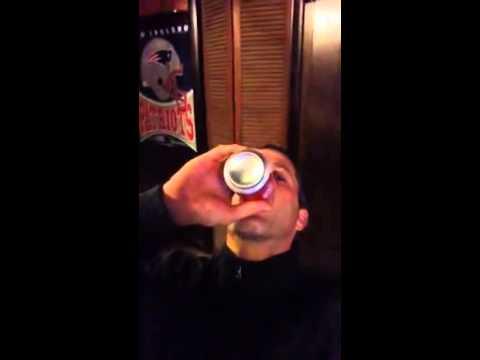 The chug a beer challenge for PMS