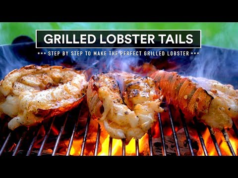 Grilled LOBSTER TAIL With Seasoned Butter For LOBSTER Rolls
