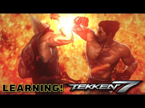 LEARNING THE ROPES! [TEKKEN 7] (Stream Archive) (видео)