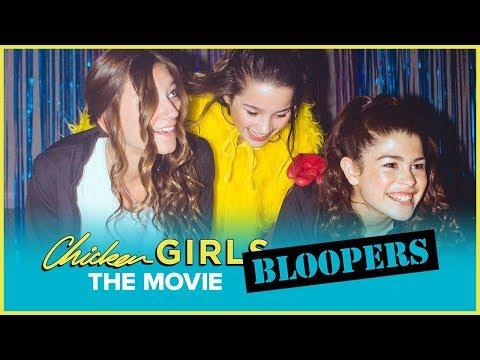 CHICKEN GIRLS: THE MOVIE | Bloopers | Annie & Hayden