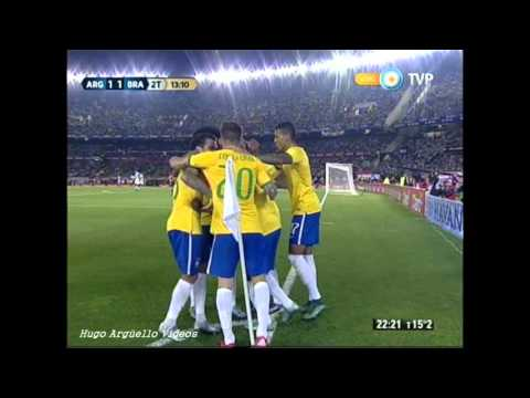 Argentina Vs  Brasil Eliminatorias Russia 2018
