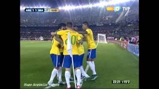 Video Argentina vs  Brasil Eliminatorias Russia 2018 MP3, 3GP, MP4, WEBM, AVI, FLV November 2017