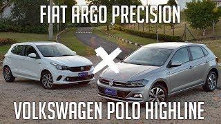 Ver o vídeo Comparativo: Fiat Argo Precision x Volkswagen Polo
