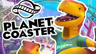PAY 2 POOP - PLANET COASTER EPIC ROLLER COASTERS (Roller Coaster Tycoon) #1