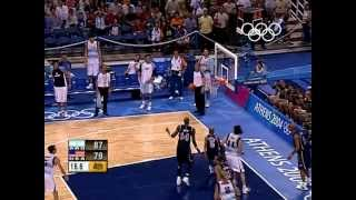 Argentina Shock Usa In Men S Basketball   Athens 2004 Olympics