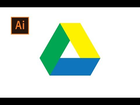 How To Design Google Drive Logo In Adobe Illustrator