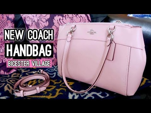 (Coach - Brooke Carryall Leather Crossbody Handbag! - Duration: 12 minutes.)