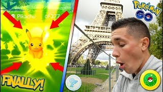 OMG IT FINALLY HAPPENED! SHINY PIKACHU IS OURS IN POKÉMON GO! + DEX COMPLETION? Safari Zone Event!