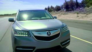 2014 Acura MDX Raw Driving Footage