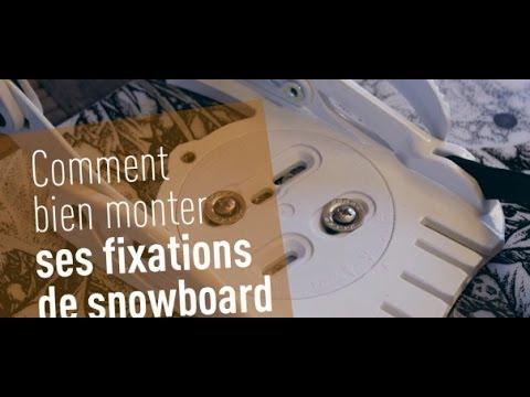 comment regler fixation ski