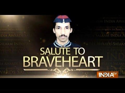 """India TV Special: """"Salaam India Awards 2014""""- Late Nitin Ivalekar 25 October 2014 11 PM"""