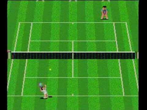 rom final match tennis pc engine