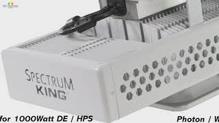 Spectrum King LED  Grow Light SK602GH | Product Video by Spectrum KING LED