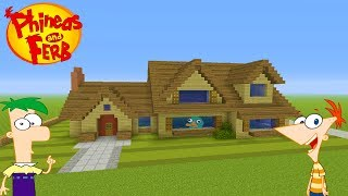 "Minecraft Tutorial: How To Make Phineas And Ferbs House ""Phineas And Ferb"""