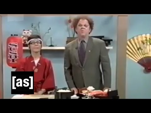 John C. Reilly - Dr. Steve Brule invites a foreign expert on sushi to make some sushi sandwiches with him.
