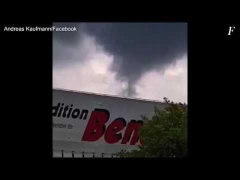 сорпренденте Торнадо ен Алеманя 16.05.2018