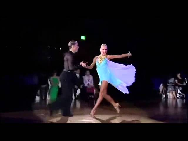 Yulia & Riccardo Rumba WSSDF 2013 International Power of Love Celine Dion