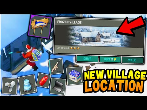 The *NEW* SECRET VILLAGE LOCATION has RIDICULOUS LOOT (Huge Crate Opening) - Last Day on Earth