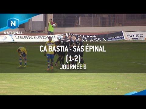 CA Bastia 1-2 SAS Epinal
