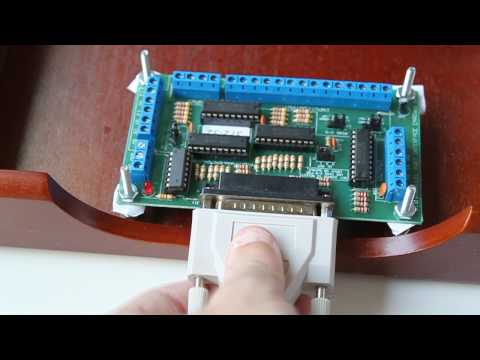 CNC Electronics 4 – Mounting the Breakout board.wmv
