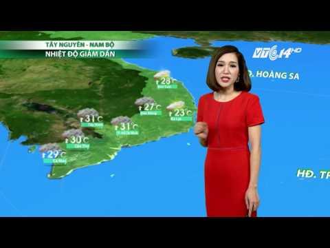 (VTC14)_Thời tiết 6h ngày 01.04.2017