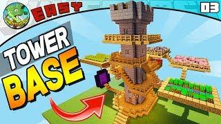 TOWER SURVIVAL BASE! (Minecraft EASY Build #03)