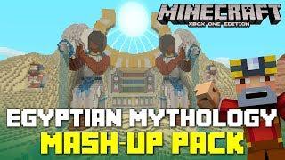 Minecraft Xbox One: Egyptian Mythology Mash-Up Pack Showcase + Giveaway!