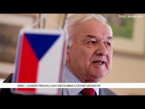 TV Brno 1: 31.1.2017 Lauraáti převzali ceny Města Brna a čestné občanství.
