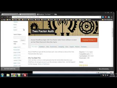 Learn Complete Wordpress Security - Chapter 11 - Two Factor Authentication