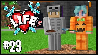 WE CREATED A HALLOWEEN SCAVENGER HUNT!!   Minecraft X Life SMP   #23
