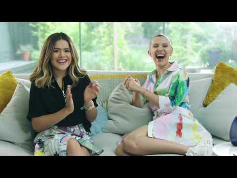 Samsung  Galaxy A80  Encontroypico - Maisa entrevista Millie Bobby Brown